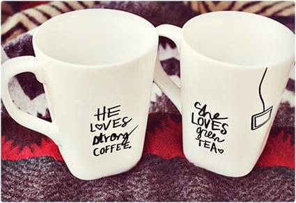 His & Hers Mugs