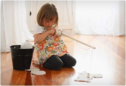 Kid's Toy Fishing Pole