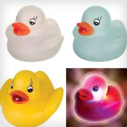 Light Up Rubber Ducky