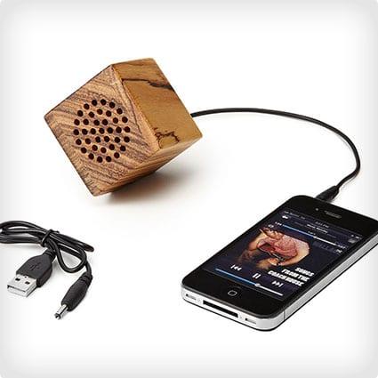 Mini-Wooden Iphone Speaker