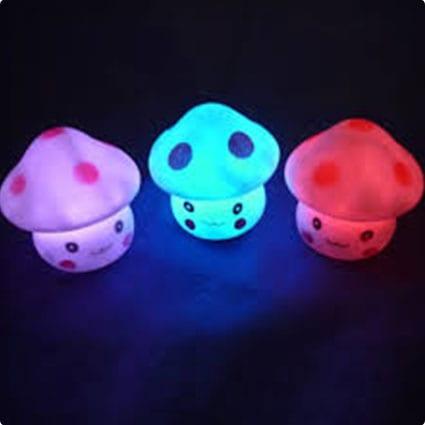 Mushroom Night Lights