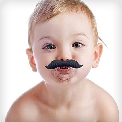 Moustache Pacifier