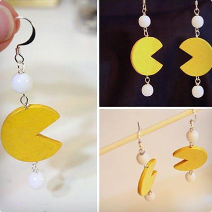 Pac-Man Paper Beads