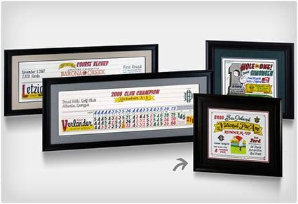 Personalized Golf Awards