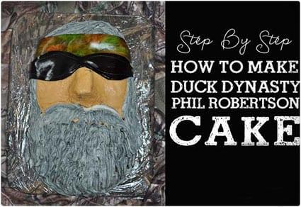 Phil Robertson Cake