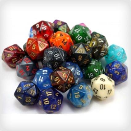 RPG Dice Earring