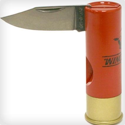 Shotgun Shell Pocket Knife