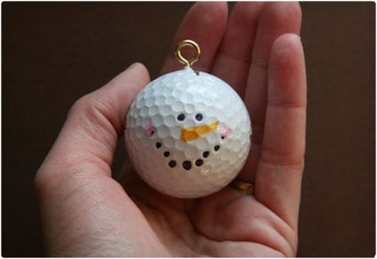 Snow Man Ornamnet