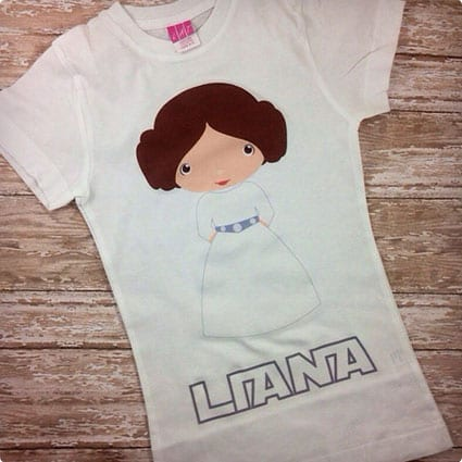 Star Wars Inspired Princess Leia T-Shirt/Onesie