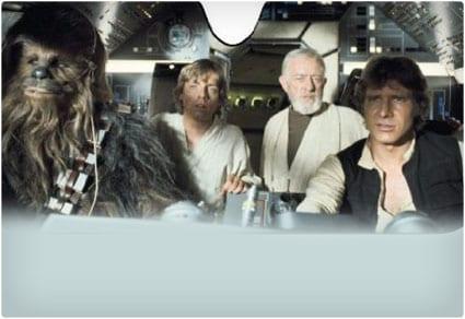 Star Wars Millenium Falcon Windshield Sunshade
