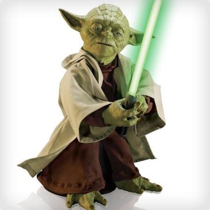 Talking Yoda Statue