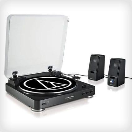 Turntable & Speaker Combo
