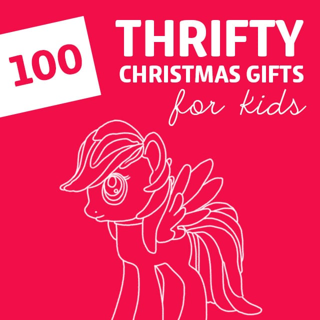 This is a AWESOME list of thrifty Christmas gifts for kids. Parents, save this list!!!