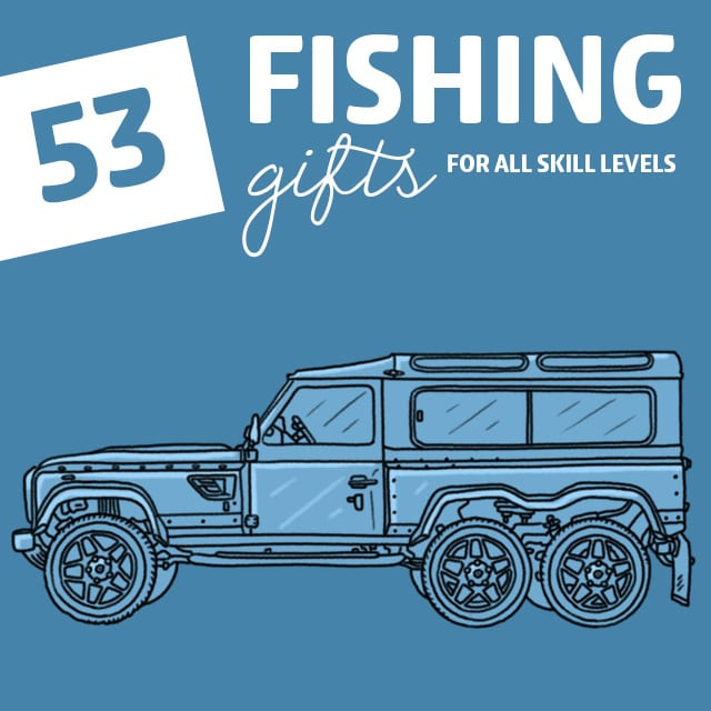 My husband loves to fish and this is the best list of fishing gifts I have ever seen! I will be using this one for years. Tons of cool ideas.