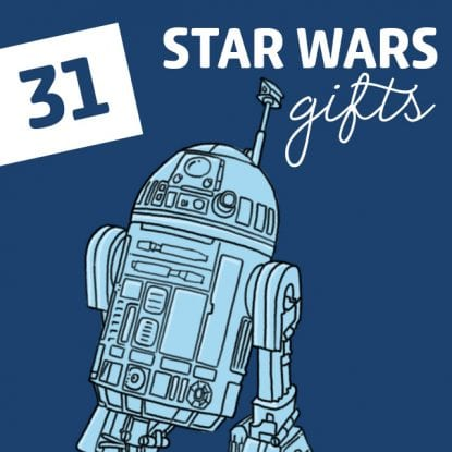 You won't need to 'Use the Force' to find an awesome Star Wars gift. This list has everything that both the dark side and light side will love.