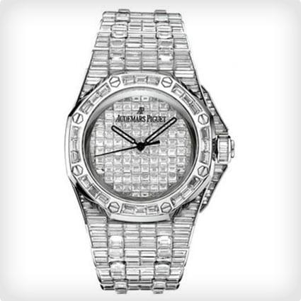 Audemar Piguet Diamond Sports Watch