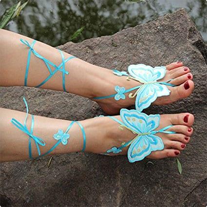 Butterful Barefoot Sandals
