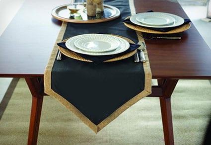 Chalkboard Table Runner Set