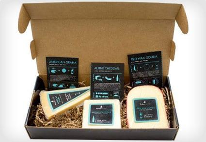 Cheese for White Wine Pairing Box