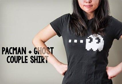 Couples Pac-Man Shirts