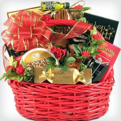 Dinner for Two Gift Basket