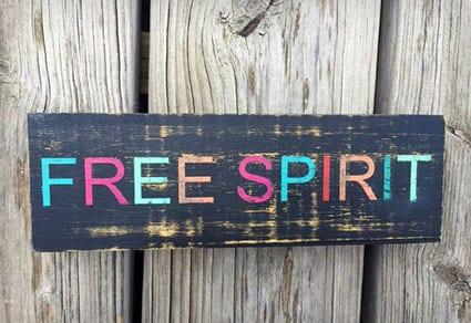 Free Spirit Candle