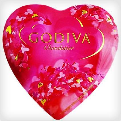 Godiva Chocolate Heart