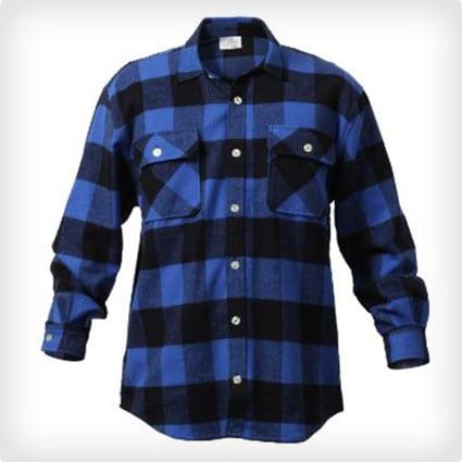 Heavyweight Flannel Shirt