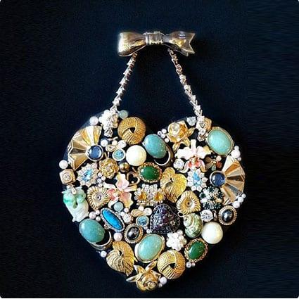 Heriloom Collage Necklace