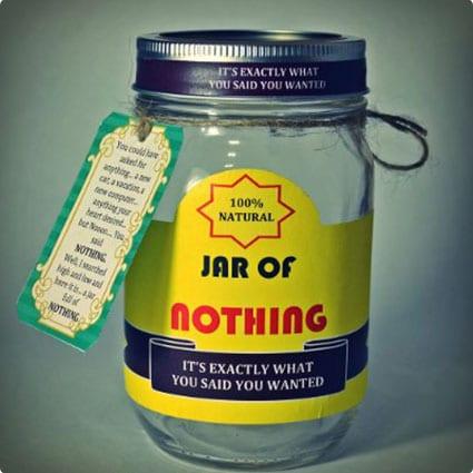 Jar of Nothing