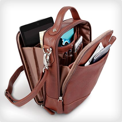 Leather Traveler'S Carryall