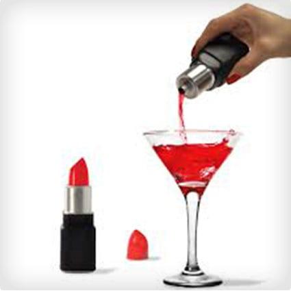Lipstick Flask