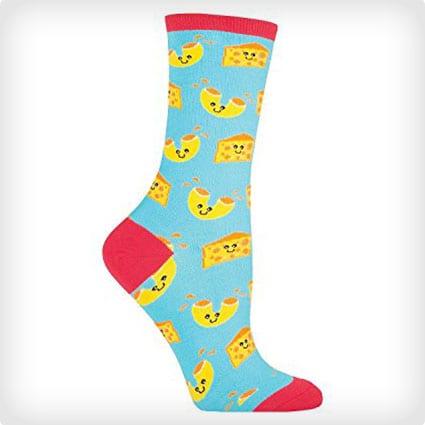 Mac n Cheese Socks