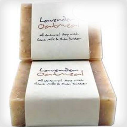 Oatmeal Lavendar Soap