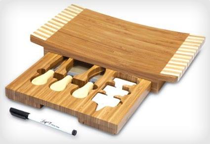 Picnic Board and Cheese Tool Set