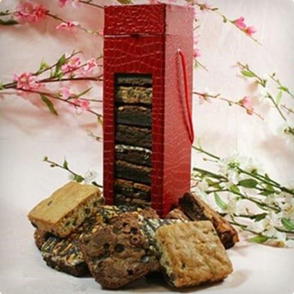 Red Wine Box of Brownies