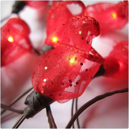 Rosebud Fairy Lights