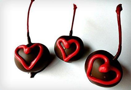 Rum Infused Chocolate Covered Cherries