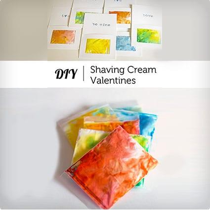 Shaving Cream Valentine