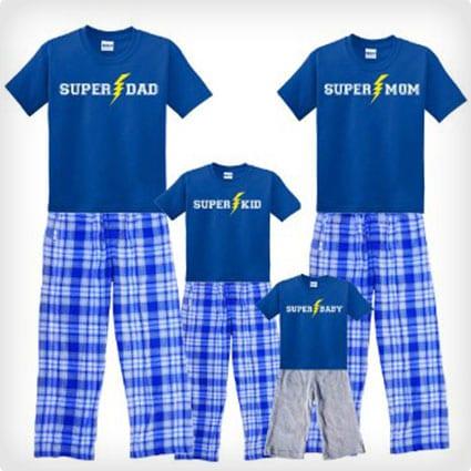 Super Family Pajama Set