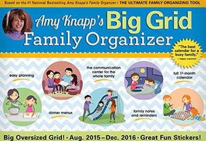 The Big Grid Family Organizer