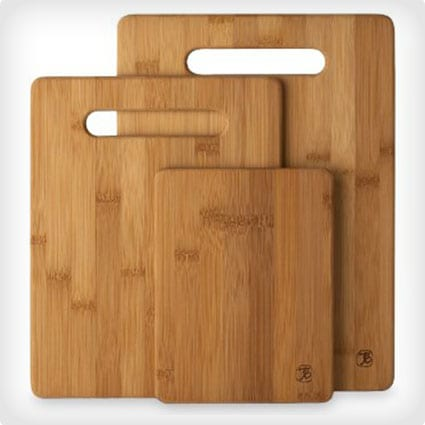 Three Piece Cutting Board Set
