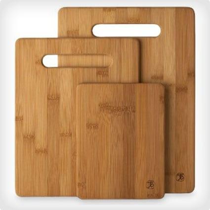 Three Piece Cutting Board Set