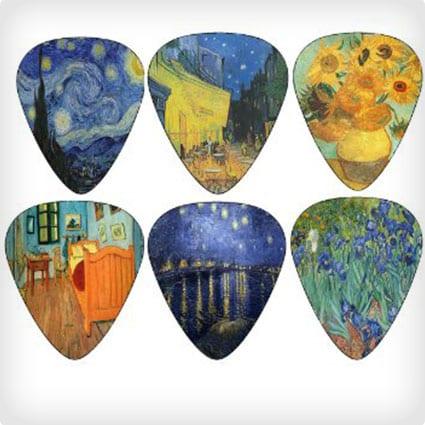Van Gogh Guitar Picks
