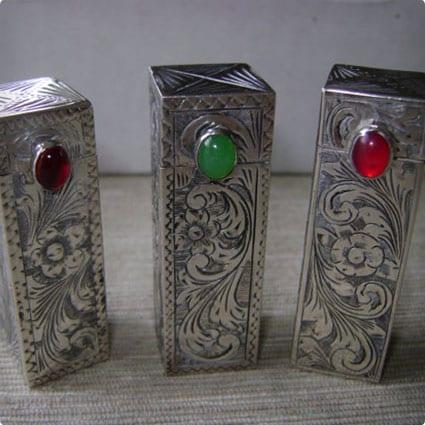 Vintage Lipstick Case