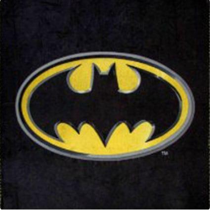 Batman Fleece Throw