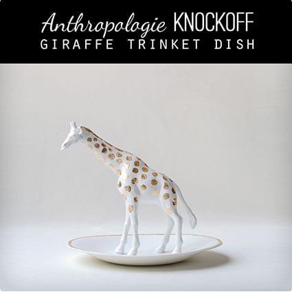 Designer Giraffe Gift