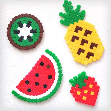 Fruit Key Rings