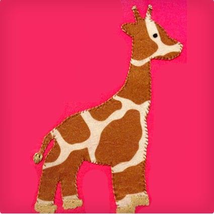Giraffe Tic Tac Toe