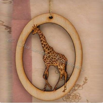 Handmade Xmas Ornament